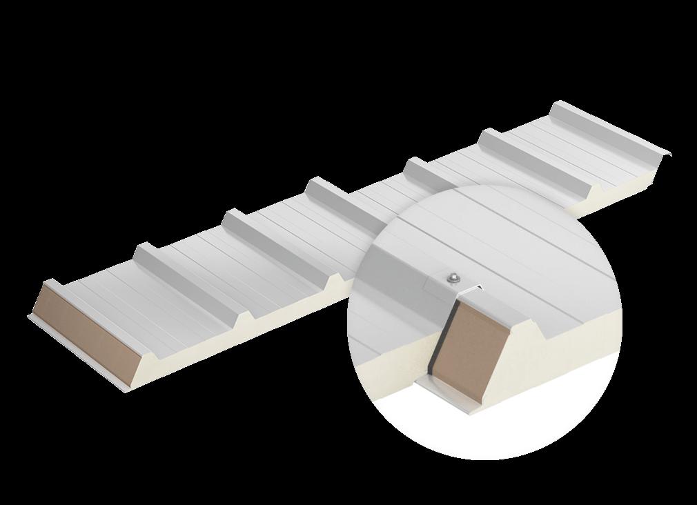 Strešné panely D PIR